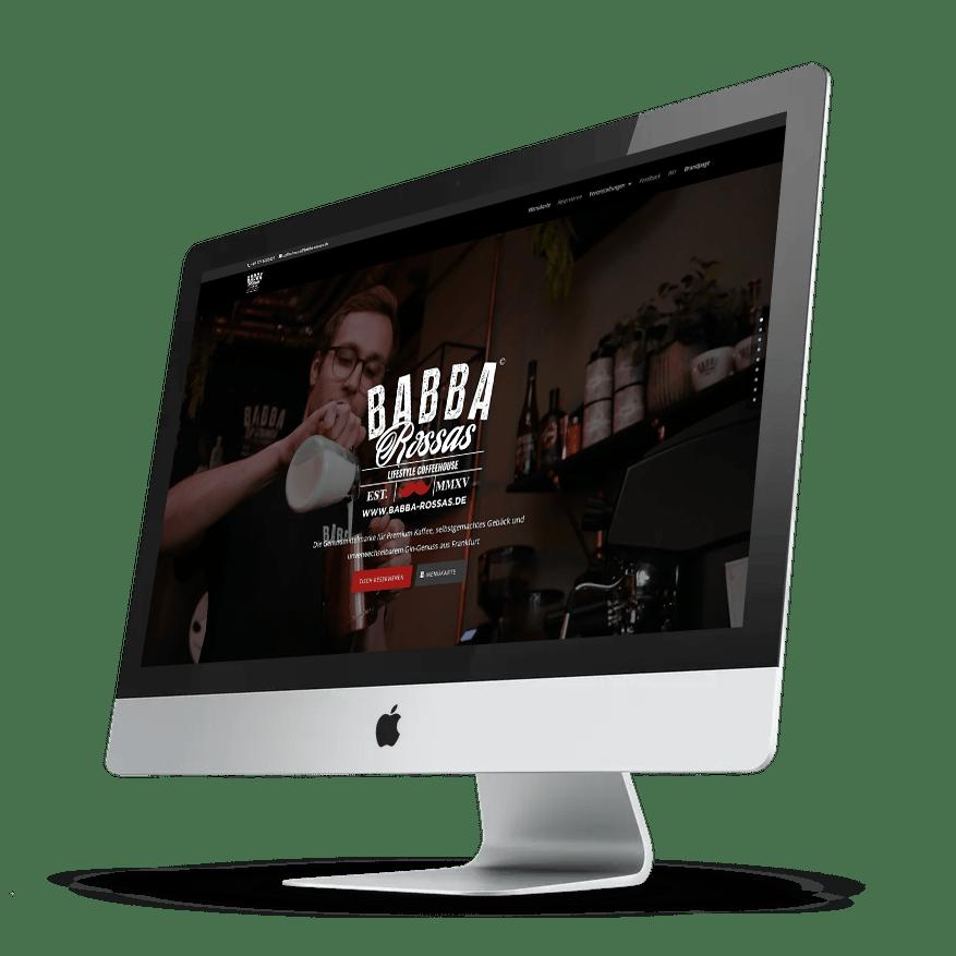 Babbarossas Coffeehouse Darkmode
